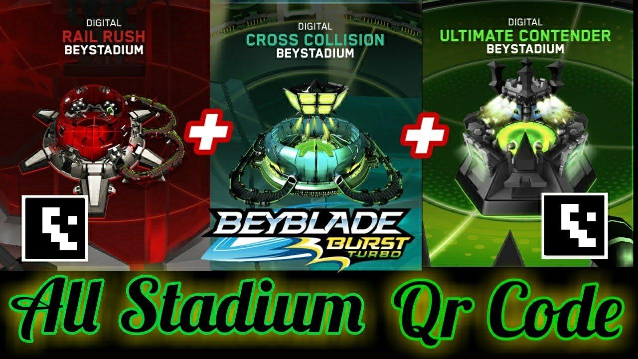 Beyblade Burst Scan Codes Stadium - Обзор Арены Бейблейд с