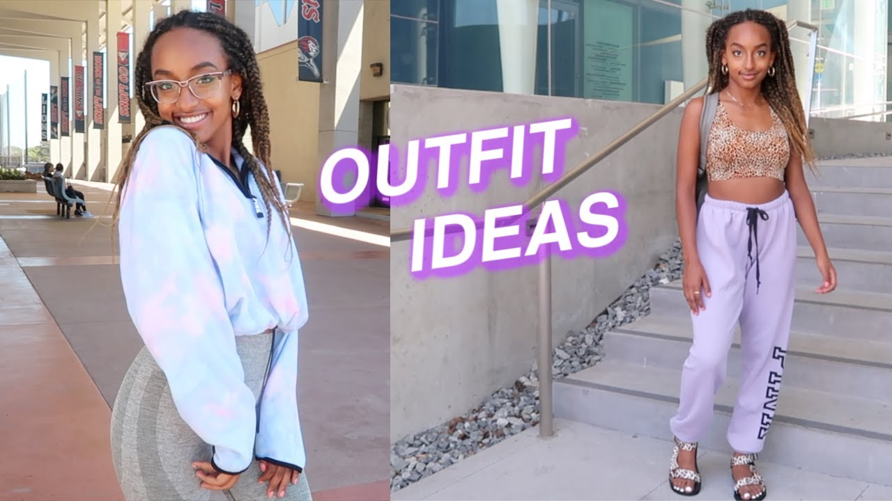 [VIDEO] - OUTFIT IDEAS FOR SCHOOL (cute & comfy) back to school 2019 1