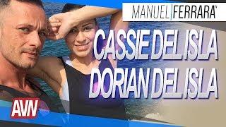 Cassie et Dorian Del Isla - AVN Expo 2018 avec Nephael