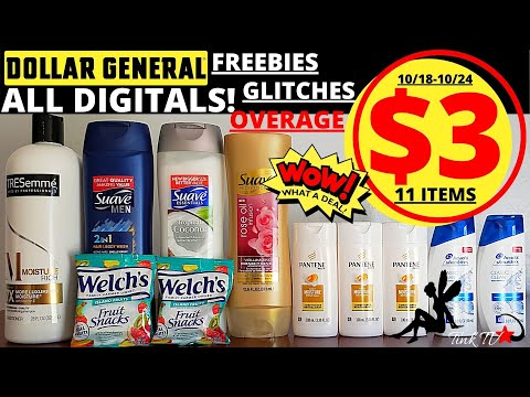 🏃♀️🔥DOLLAR GENERAL HOTTEST  ALL DIGITAL DEAL THIS WEEK🔥PAY $3 For These 11 ITEMS🔥MY $100 GIVE AWAY