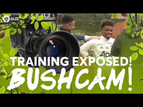 BUSHCAM: Angel Gomes DEBUT! Manchester United vs Crystal Palace | TRAINING EXPOSED!