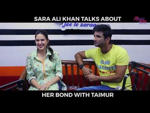 Sara ali khan talks about the age gap between her and taimur ali khan