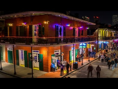 USA - Bourbon Street - Louisiana - New Orleans webcam HD