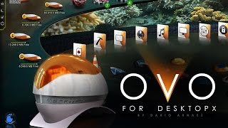 Best 3D Desktop PC: Desktopx theme OVO