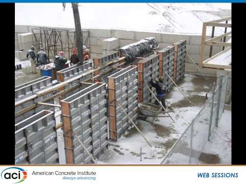 Cold Weather Research Findings for Residential Concrete Foundation Walls