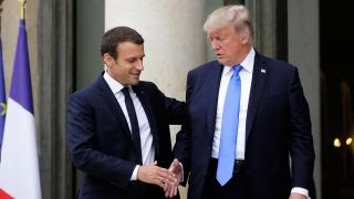 Trump, Macron meeting may signal new alliance thumbnail