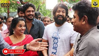 Yash & Shivanna Launched Jaggesh's New Movie 8MM | Full HD Video | New Kannada Movie