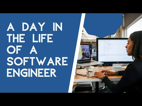 A Day in the life of a Software Engineer at a Tech company