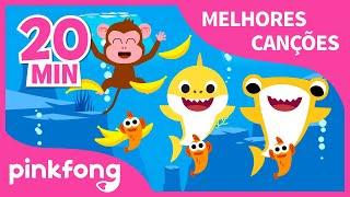 T-U-B-A-R-Ã-O e mais músicas Infantis | + Compilação | Pinkfong Canções para crianças