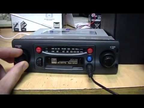 Dual Xc Cassette Car Radio Review Amp Test