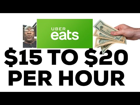 Uber Eats 3 Steps To $15-$20 Per Hour