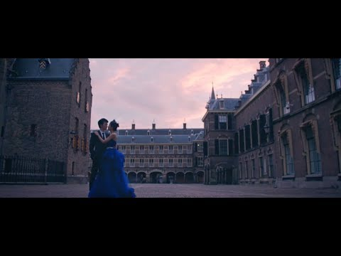 Cinematic pre-wedding teaser shot in Venice, Paris and the Netherlands
