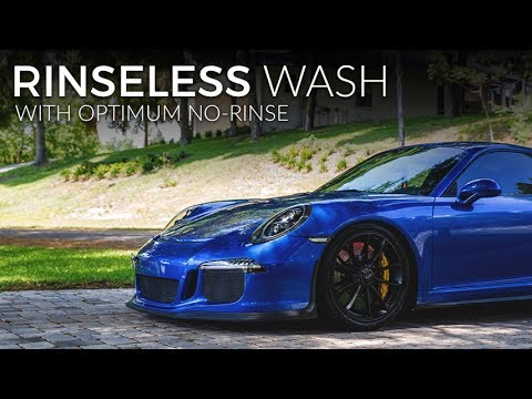 ONR/The Rag Company Rinseless Wash of the GT3