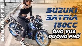 Cảm nhận Suzuki Satria 150cc - Ông Vua Đường phố | MinhBiker