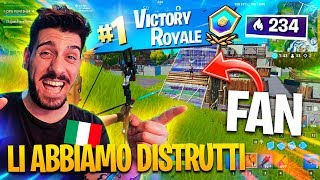 FAN PORT TO A REAL VITTORY IN ARENA!!! ITA Fortnite