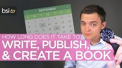 How Long Does it Take to Write, Publish, & Create a Book?