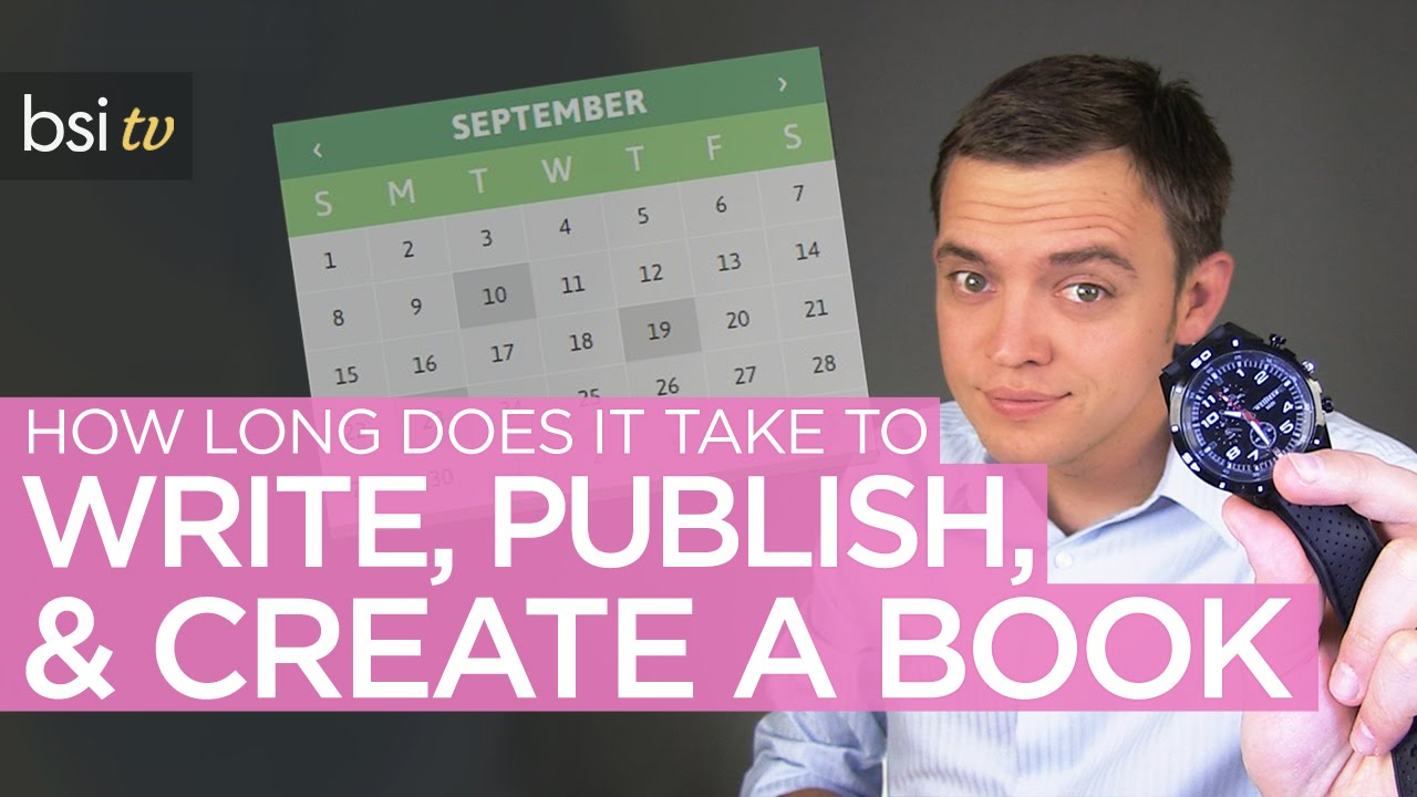 How Long Does it Take to Write, Publish, & Create a Book ...