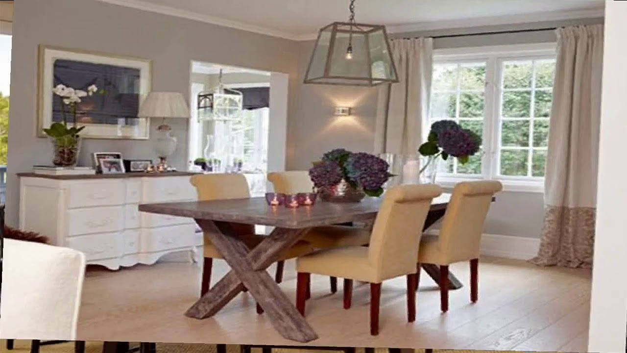 Casual Dining Room Decorating Ideas - YouTube