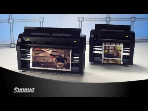 Summa DC Series Printer / Cutters