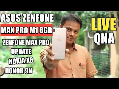 Asus Zenfone Max Pro M1 6GB, Zenfone Max Pro Update, X6