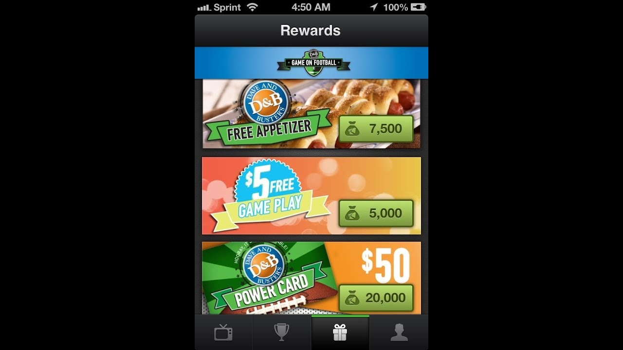 New Dave And Busters Game On App Watch The Game And