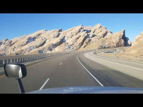 BigRigTravels Interstate 70 Westbound in Utah (part 1)-Jan. 24, 2019