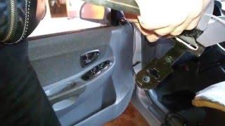 Hyundai Accent - Ремонт ремня безопасности(, 2016-03-23T01:53:20.000Z)