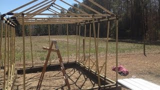 Building My Own Greenhouse Using The Ez Frames Kit Part 1