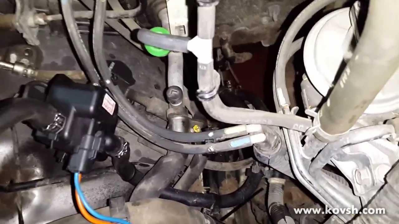 автомобиль mazda bt-50 подогреватель топливного фильтра