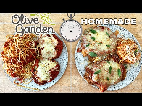 Can This Pro Chef Make Chicken Parm Faster Than Delivery From Olive Garden? • Tasty