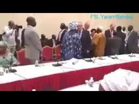 Gambia's Government Joint Press Conference With The EU Commission