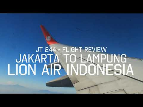 Flight Report | Lion Air Boeing 737-800NG JT244 JAKARTA TO LAMPUNG