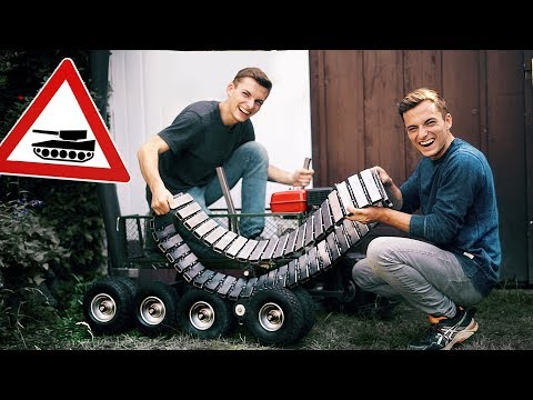 building-a-tank-using-a-hand-cart!-#1