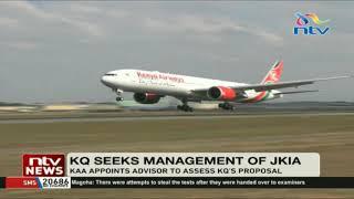 Kenya Airways seeks management of JKIA