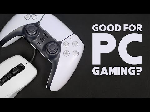 How Good is the PS5 DUALSENSE for PC GAMING?