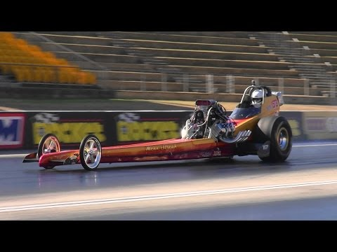 DAVE ARMSTRONG NITRO FED TOP FUEL DRAGSTER 6.60 @ 214 MPH SYDNEY DRAGWAY 1.2.2014