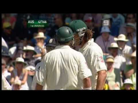 Ashes 06/07 - Monty Panesar vs Andrew Symonds