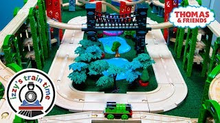 Toy Trains for Kids | Thomas and Friends CENTRAL PARK TRACK! Brio Trains and Videos for Children