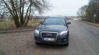 Обзор Audi Q5,quattro 2010 г.в. 2.0 л. С  пробегом 96000т.Что с моторам.