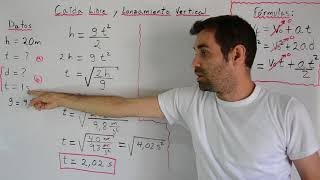 Ejercicio de Caída Libre | Lanzamiento Vertical | Física |...