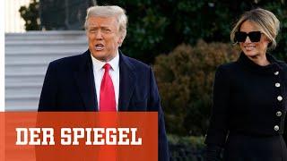 Trumps Abschied: »Wir werden in irgendeiner Form zurückkommen«