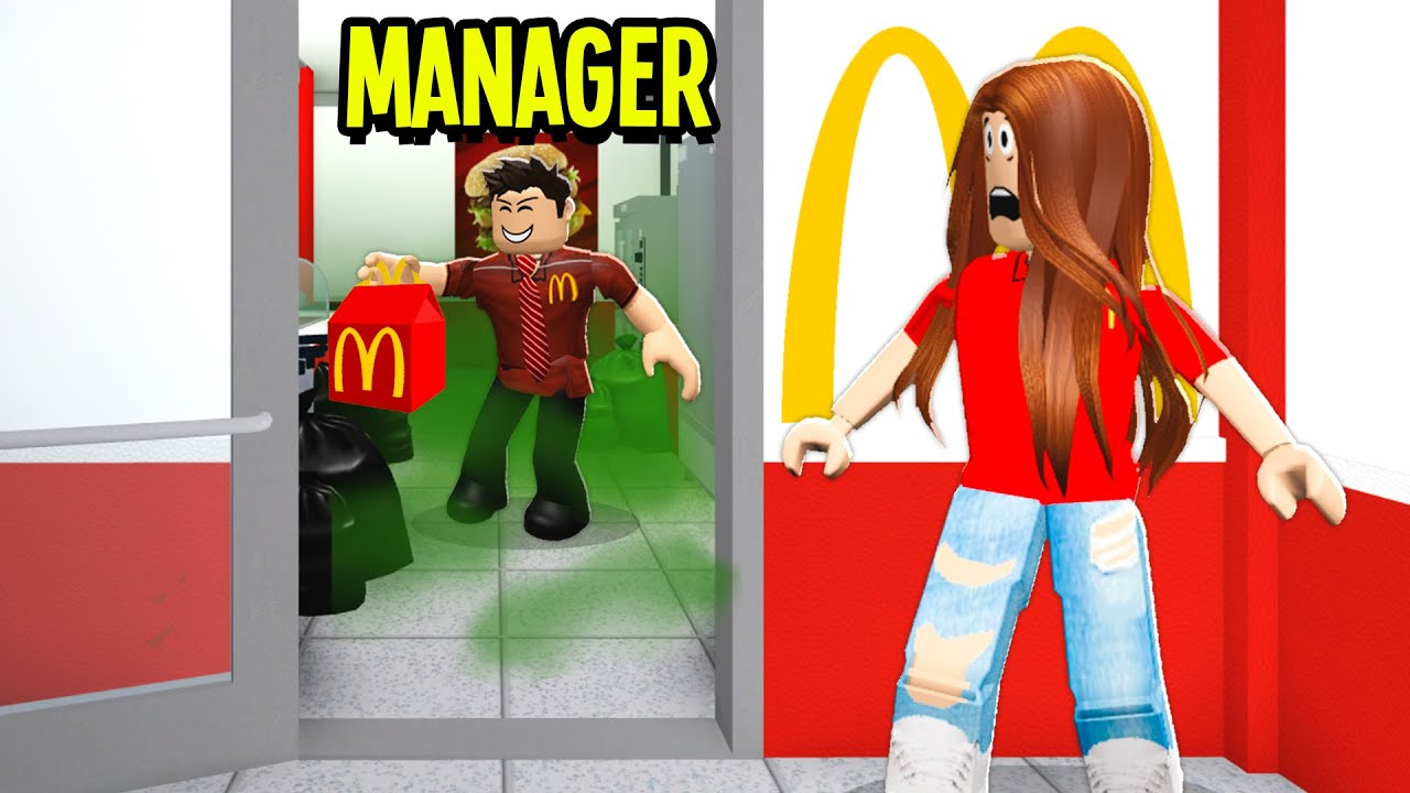 I Got A Job At McDonalds.. Manager Was POISONING Food! (Roblox Bloxburg)