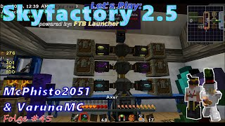 ♦ #45 ♦ LP Minecraft SkyFactory 2.5 ♦ Essentia Crystallizer [Thaumcraft]