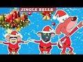 Rat-A-Tat |'Jingle Bells Christmas Songs Dance Mice & Santa 1HR'| Chotoonz Kids Funny Cartoon Videos