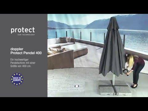 Doppler Sonnenschirm Protect 400 Cm Youtube