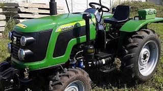 Купить Мини-трактор Zoomlion/Detank RF-244B с грузами minitrak.com.ua(, 2017-08-02T08:59:54.000Z)