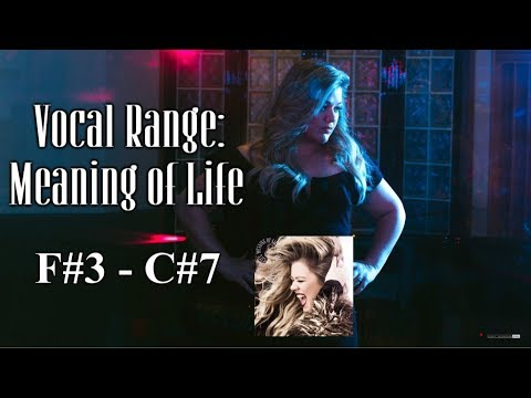 Kelly Clarkson Vocal Range: Meaning Of Life (8th Album) F#3 - Bb5 - C#7