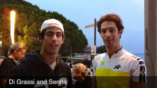 Lucas Di Grassi and Bruno Senna speaks TriStar!