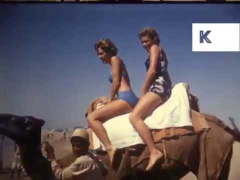 Early 1960s Pakistan, Western Tourists on the Beach