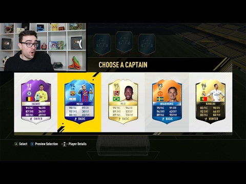 THE HIGHEST RATED FUT DRAFT POSSIBLE!!! Fifa 17 FUT Draft Challenge